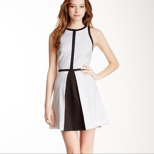 BB Dakota Color Block Derry Dress